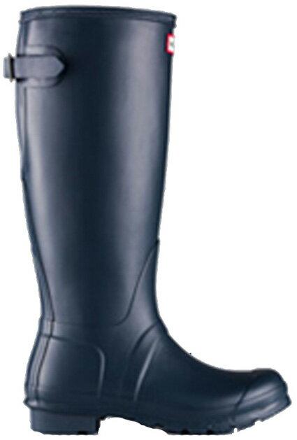 <特別価格!>HUNTER【ハンター】ORIGINAL BACK ADJUSTABLE NAVYオリジナルバックアジャスタブル・ネイビーレインブーツ ラバーブーツ 長靴 ハンター・オリジナルバックアジャスタブル