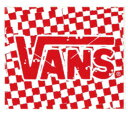 VANS RED CHEKER STICKER!