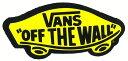 ショッピングウォールステッカー VANS YELLOW OFF THE WALL STICKER!MEDIUM