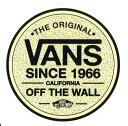 ショッピングウォールステッカー 【メール便対応】 新作 VANS SINCE 1966 CALIFORNIA OFF THE WALL STICKER 入荷!