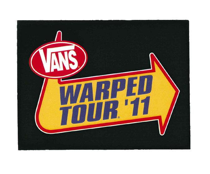 【メール便対応】 VANS WARPED TOUR'11 BLACK