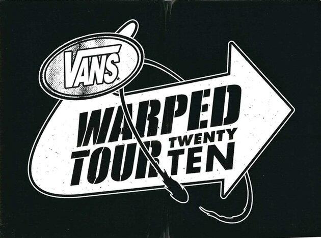 【メール便対応】 新作 VANS WARPED TOUR TWENTY TEN 入荷!