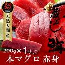 大間本マグロ 赤身200g |青森県大間産 大間のまぐろ刺身【楽ギフ_のし】