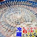 魚屋が作るふぐ刺し未冷凍のふぐ刺身たっぷり6人前 送料無料特大39cm皿使用フグの王様