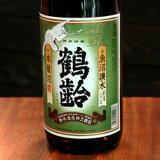 青木酒造  鶴齢 本醸造1.8L