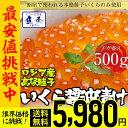 【期間限定5600円 】秋鮭卵を使用!いくら イクラ 本いくら いくら醤油漬け 500g入り 期間限定 最安値に挑戦 ロシア産 送料無料 安価な鱒子ではありません。 【注意】北海道、沖縄は追加送料を756円加算し、ご請求いたします。