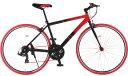 自転車 700C アルミ おすすめ 初心者 クロスバイク シマノ21段変速 通勤 通学 快足