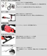 DOPPELGANGER/ドッペルギャンガーコンパクトローラースタンドライトDTM127-BR【サドル・シートポスト】【自転車パーツ】