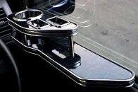 HEARTILY(ハーテリー) ラグジュアリーサイドテーブル運転席・助手席左右セット!TOYOTA車用