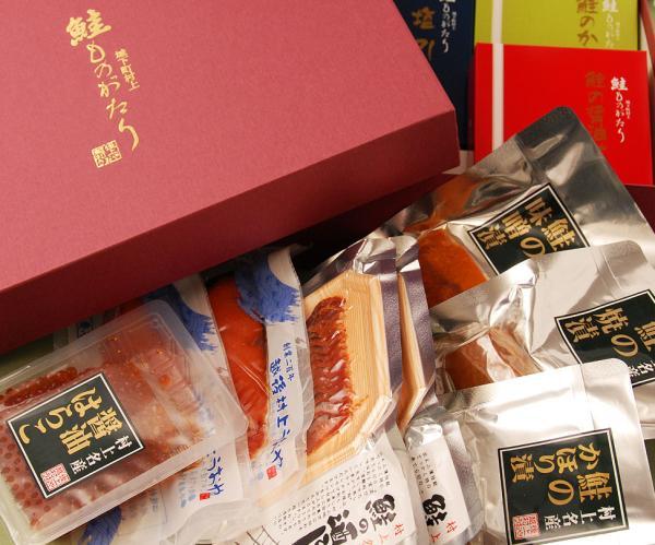 鮭ものがたり4品Bセット化粧箱入り 【塩引き鮭...の紹介画像3