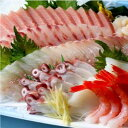 天然・日本海の海の幸を盛り合わせ!刺身セット (約3人前)