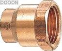 カクダイ 水栓材料 銅管内ネジアダプター【6697-13X22.22】[新品]【RCP】