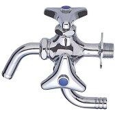 三栄水栓[SANEI] 単水栓 万能二口横水栓 【F12AK-13】 (寒冷地用) [蛇口][新品]【RCP】