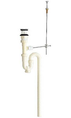 三栄水栓[SANEI] 洗面用品 洗面器トラップ 洗髪排水栓付Sトラップ 【H774-38】[新品]【RCP】
