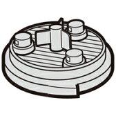 シャープ[SHARP] オプション・消耗品 【2173370491】 掃除機用 高性能プリーツフィルター(217 337 0491) [新品]【RCP】