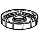シャープ[SHARP] オプション・消耗品 【2803120012】 加湿空気清浄機用 タンクキャップ(280 312 0012) [新品]【RCP】
