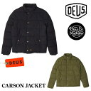 DEUS EX MACHINA ( デウスエクスマキナ ) CARSON JACKET カーソンキルト中綿ジャケット DMF76730 アウター ロンハーマン/バイク バイカー サーフィン ロック