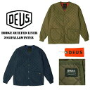 DEUS EX MACHINA ( デウスエクスマキナ )HODGE QUILTED LINER JACKET/ DMF76662 キルティング ライナージャケット アウター ロンハーマン/バイク バイカー サーフィン ロック[USA直輸入品]