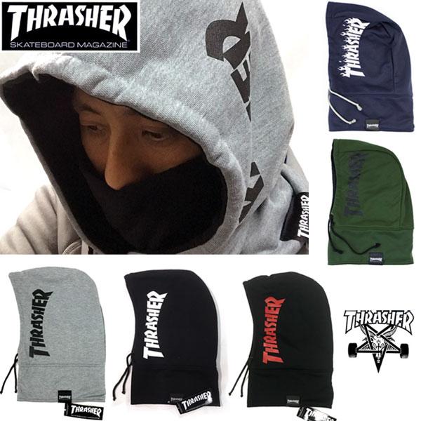 【THRASHER】スラッシャー バラクラバ フードウォーマー/フード ネックウォーマー 16TH-K52 17TH-K56 balaclava スノーボード スケート サーフ アウトドア