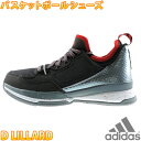 adidas D LILLARD 黒赤 アディダス Dリラード バスケットシューズ バッシュ メンズ スニーカー S85492