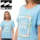 ビラボン レディース半袖Tシャツ BILLABONG SURF シンプル 定番