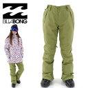 SALE ビラボン レディース スノーウエア BILLABONG AG01L705 スノーボード パンツ ボトムス