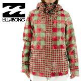スノボ ウェア レディース ファッション ビラボン BILLABONG スノーボード ジャケット AE01L-761