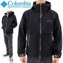 コロンビア 保温撥水ジャケット columbia PM3668 レインジャケット 黒xカモ柄