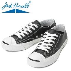 ����С���-�쥶�����塼��-����å��ѡ�����-CONVERSE-JACK-PURCELL-LEATHER-�֥�å�