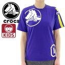 CROCS KIDS キッズTシャツ 半袖【140/150/160】男の子 女の子 ジュニア ティーシャツ クロックス 子供服