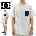 楽天ユーピースポーツ楽天市場店【セール】 DC SHOE メンズポケットTシャツ 丈長 ポケT ディーシー EDYKT03201 BTL4 オフホワイト
