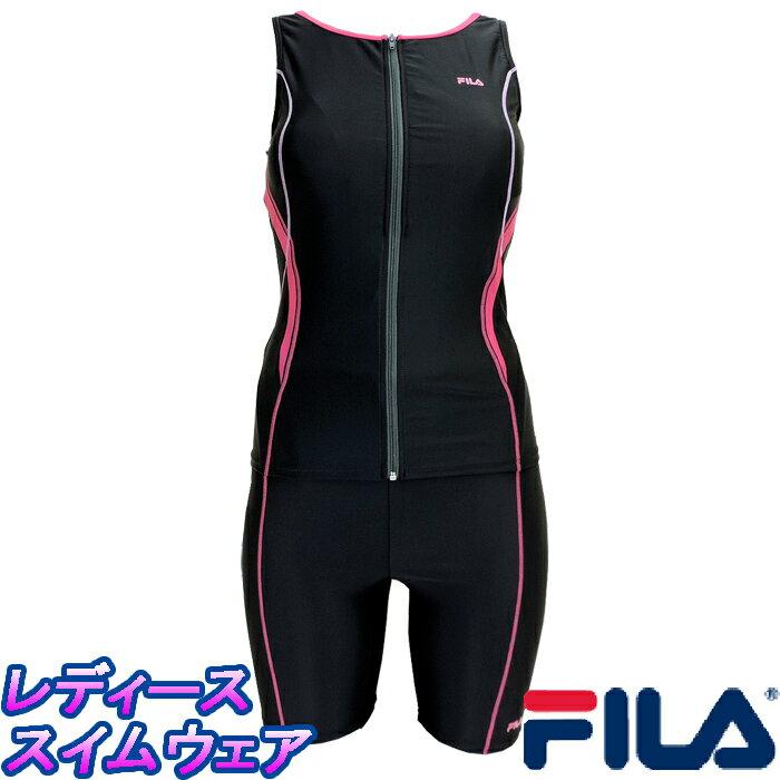 フィラ 即納 フィットネス レディース 水着 346-209 タンキニ 即納!大人気「FILA/フィラ」のレディースフィットネス水着/セパレート水着です。