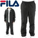 FILA 447353 ジョギングパンツ ブラック フィラ トレーニングパンツ ランニングパンツ シャカシャカパンツ