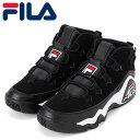 ショッピングバスケットシューズ フィラ グラントヒル 1 シューズ レディース スニーカー ブラック ウィメンズ F04110014