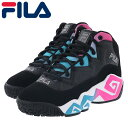 ショッピングバスケットシューズ フィラ マッシュバーン メンズ レディース バスケットシューズ スニーカー FILA F05670965 ブラック