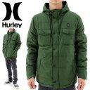 【セール】中綿ジャケット HURLEY メンズ ジャケット ハーレー ブルゾン MJK0001600 ミリタリージャケット