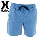 HURLEY ショートパンツ ウォークショーツ MWS0003710 ファントム ショーツ ハーレー ハーフパンツ