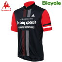 ルコック サイクルウエアー メンズ サイクル半袖ジャージ 自転車用半袖シャツ Lecoq QC-741671