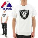 【】 MAJESTIC(マジェスティック)Tシャツ (NM01-OLR-0004 WHT1) NFL