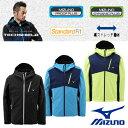 ミズノ メンズジャケット MIZUNO A2JE5603 ソフトシェルジャケット テックシールド 撥水素材 防風素材