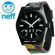 NEFF 腕時計 ロゴ入り 男女兼用 シンプル ネフ 時計 メンズ レディース DAILY WILD