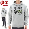 NESTA メンズパーカ ネスタ プルオーバー スウェットパーカー HD1505F