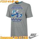 NIKE ナイキ バスケットボールウェア メンズ半袖Tシャツ シーズナル AIR #1 TEE バスケシャツ NIKE 618953 バスケット用ウエア バスケウエア 人気 おすすめ 即納 プラクティスシャツ 通販 販売 バスケTシャツ ゲームシャツ