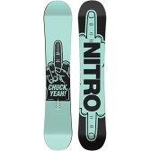 NITRO スノーボード 板 CHUCK YEAH 2015-2016 ナイトロ キャンバー スノボー 151