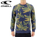 【セール】オニール メンズトレーナー サーフブランド O'NEILL 総柄スウェット 裏起毛 ONEILL