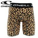 オニール インナーサポーター メンズ 水着 ONEILL ボードショーツ用 インナーパンツ ボクサーパンツ 624954 男性用水着 通販 サーフパンツ用 販売 即納 豹柄 レオパード 黄色 総柄 leopard サーフブランド