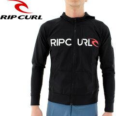 RIPCURL-ラッシュガード-メンズ-長袖-パーカー-ジップアップ-X01-872