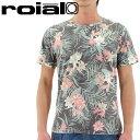 【セール】ROAIL Tシャツ ロイヤル 総柄Tシャツ TS509 通販 販売 即納 人気 半そでTシャツ ショートスリーブ 丸首
