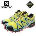 サロモン トレイルランニングシューズ 運動靴 GORE-TEX ゴアテックス SPEEDCROSS3 GTX W