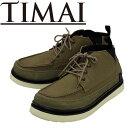 TIMAI メンズスニーカー ティマイ KOSIN TIHUD065 今井タカシ キャンバス スエード グリーン